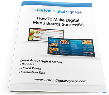 How To Make Digital Menu Boards Successful