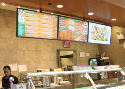 Saladworks Digital Menu Boards