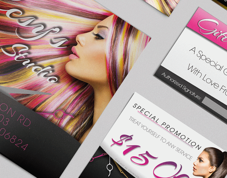 Cesy's Hair Studio – Hair Salon Branding
